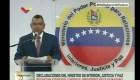 Ministro del Interior de Venezuela: Están identificados los actores del atentado
