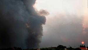Incendios forestales azotan parte de España y Portugal
