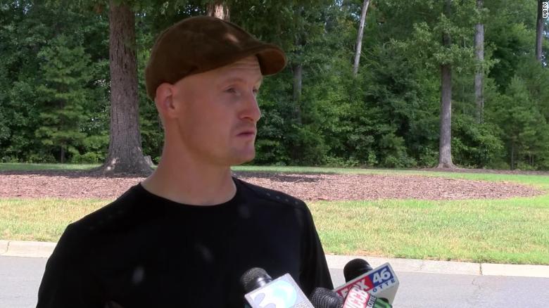 Philip Smith, el padre del niño de nueve años que fue atracado a punta de pistola en su puesto de limonada.