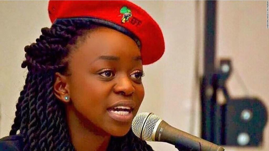 Khensani Maseko, estudiante de la Universidad de Rhodes en Grahamstown, dijo que fue violada por otro estudiante en mayo, según un comunicado de la universidad.