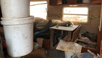 El escalofriante hallazgo de un campamento de niños secuestrados