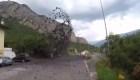 #LaImagenDelDía: chorros de barro ponen en alerta a comunidad