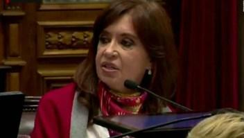 Esto dijo Cristina Fernández en debate sobre aborto en el Senado