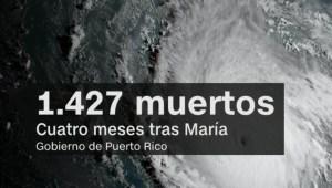 Por error, Gobierno revela nuevas cifras sobre María