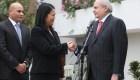 Pedro Cateriano y fotografías con políticos del Perú