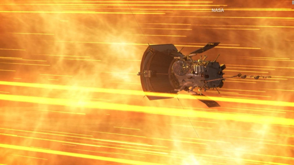 """La misión con la que la NASA quiere """"tocar"""" el Sol"""
