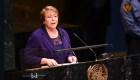 Bachelet vuelvecop a la ONU como alta comisionada