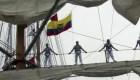 Veleros de América Latina cierran recorrido en costas mexicanas