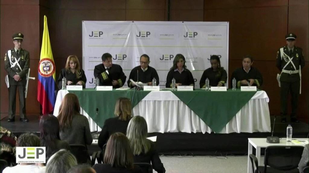 """Colombia: comienza la primera audiencia de la JEP sobre los """"falsos positivos"""""""