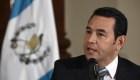 Nueva solicitud de investigación contra el presidente de Guatemala, Jimmy Morales