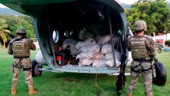 Armada de México incauta casi dos toneladas de presunta cocaína
