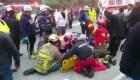 Accidente de autobús enluta a equipo de fútbol de Ecuador