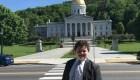 Adolescente de 14 años aspira a ser gobernador de Vermont