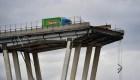 Fuerte tormenta provoca caída de un viaducto en Italia