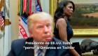 """#MinutoCNN: Trump llama """"perro"""" a Omarosa en un tuit"""