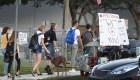Estudiantes de Parkland vuelven a clases tras tiroteo