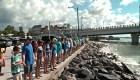 #LaImagenDelDía: Manos contra la marea roja