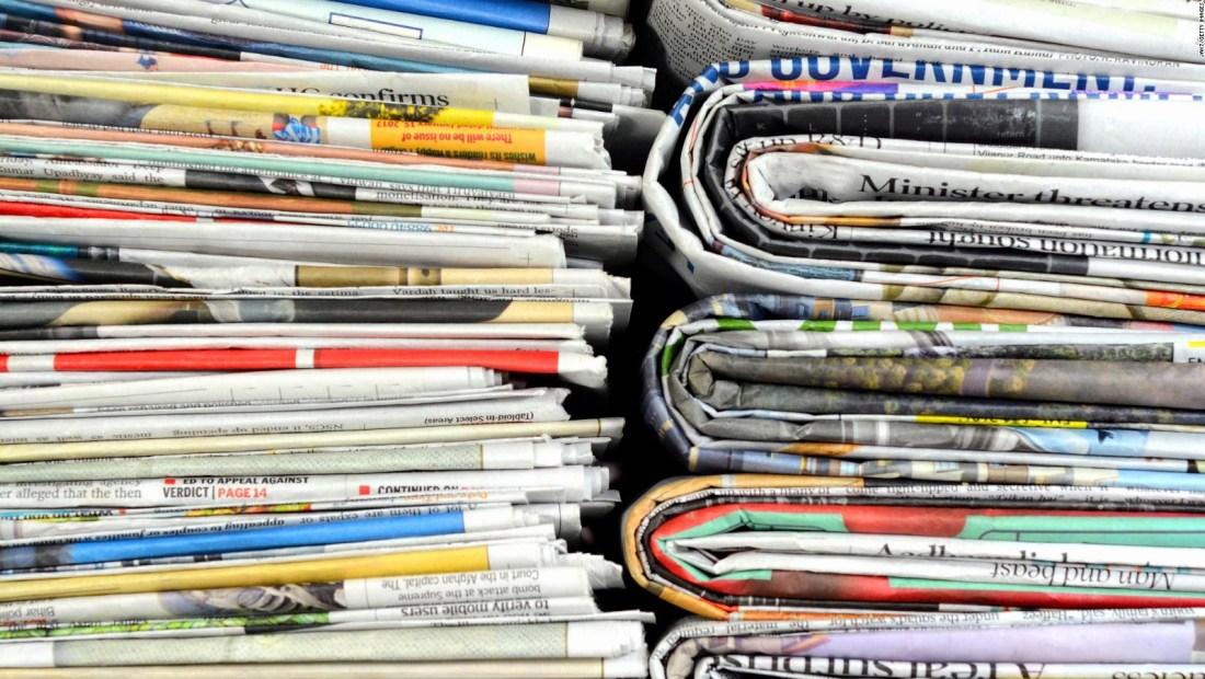 Cerca de 350 periódicos se unen en contra de Trump
