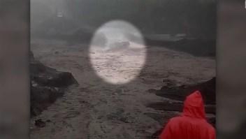 Milagro cerca del Volcán de Fuego