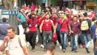 Protesta de rechazo a los inmigrantes nicaragüenses en Costa Rica