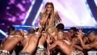Jennifer López hace historia en los VMAs