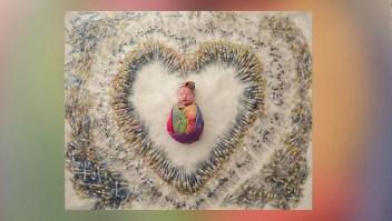 #LaImagenDelDía: El homenaje de una pareja a su hija recién nacida