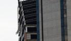 Así quedó la parte superior de la Torre de David en Caracas tras el sismo