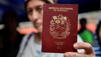 Sacar pasaporte en Venezuela puede tomar años