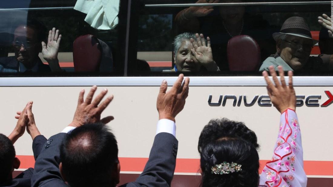 Reencuentro entre coreanos llega a su fin