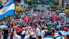 Marcha en Costa Rica a favor de los refugiados nicaragüenses