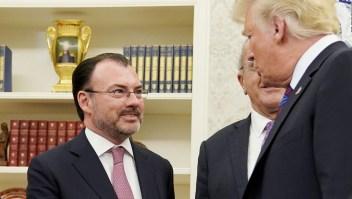 Videgaray: Es un buen día, se logró un acuerdo bilateral con EE.UU.