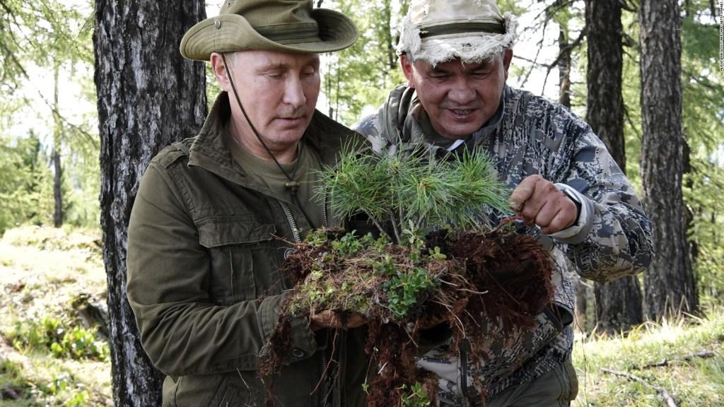 Putin descansa en Siberia