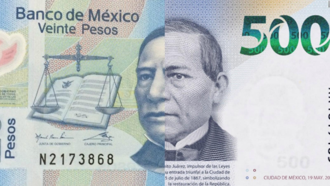 Benito Juárez asciende al billete de 500 pesos en México