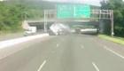 Aparatoso accidente podría haber sido por ira vial