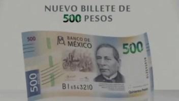 El diseño de los nuevos billetes de México