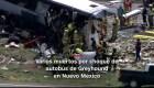 #MinutoCNN: Varios muertos por choque de autobús en Nuevo México
