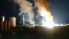 Una subestación eléctrica explotó en Maracaibo