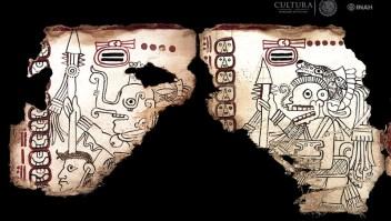 Códice Maya de México. (Crédito: Martirene Alcántara, INAH)