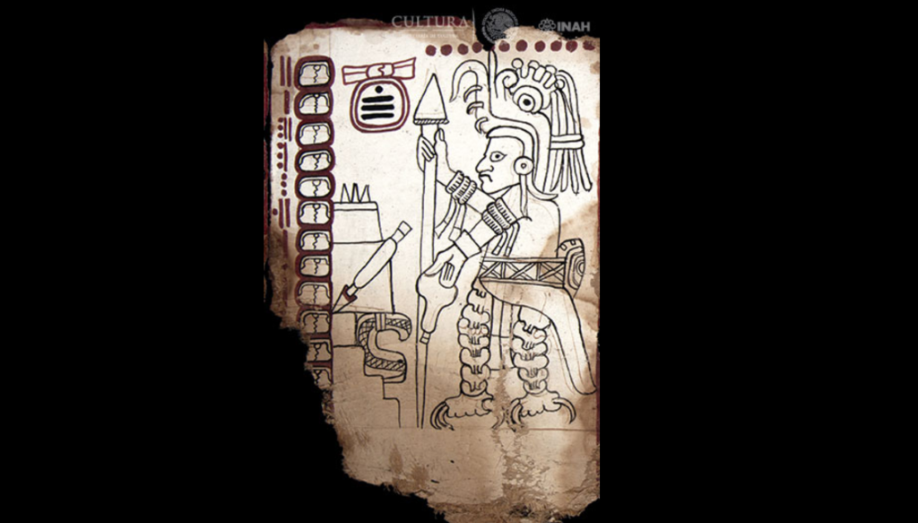 (Códice Maya de México. Crédito: Martirene Alcántara, INAH)