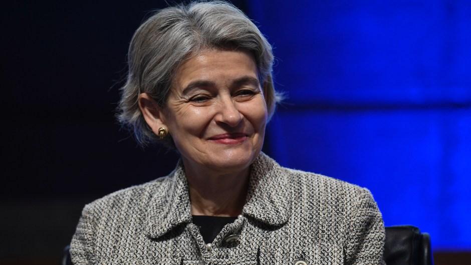 Irina Bokova, directora general de la UNESCO. (Crédito: LIONEL BONAVENTURE/AFP/Getty Images)