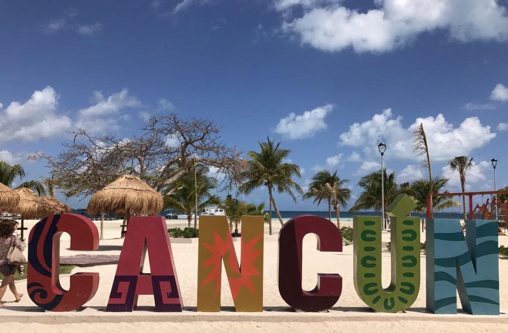 Playa de Cancún, en Quintana Roo, México. (Crédito: DANIEL SLIM/AFP/Getty Images)