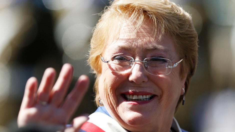 La expresidenta de Chile, Michelle Bachelet, fue nombrada este 10 de agosto como alta comisionada de la ONU para los Derechos Humanos. (Crédito: PABLO VERA LISPERGUER/AFP/Getty Images)