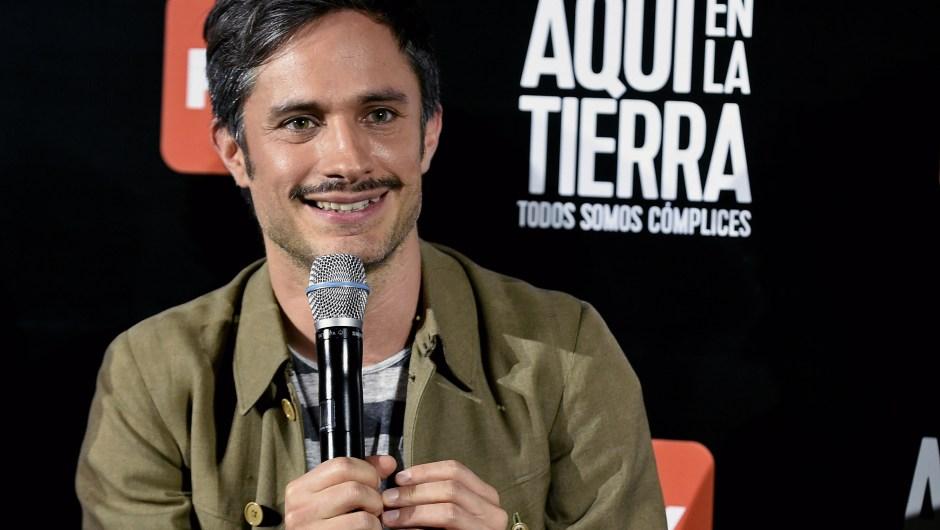 """El actor mexicano Gael García también se declaró a favor. """"Apoyo a todas las mujeres para que se garantice su derecho. Y apoyo en especial a mi tribu de las actrices argentinas, que junto con tantas voces, están a punto de hacer historia"""", dijo."""
