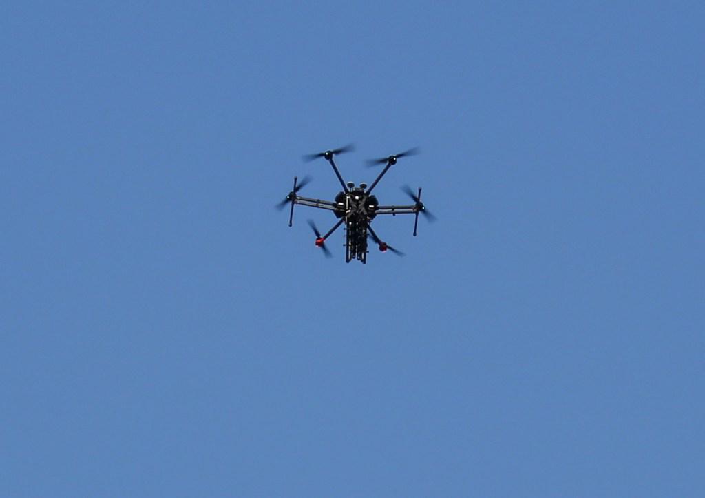 Imagen de archivo de un dron. (Crédito: SAID KHATIB/AFP/Getty Images)