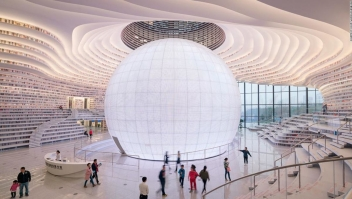 Biblioteca de Tianjin, China