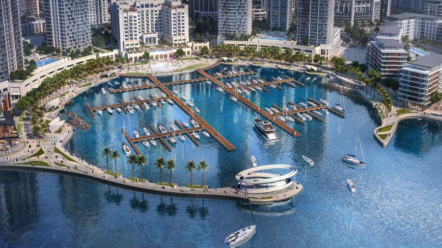 The Creek Marina abrirá en diciembre y los residentes llegarán en 2019.