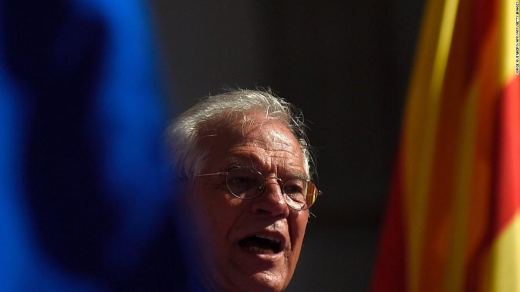 Josep Borrell, ministro de Exteriores de España.