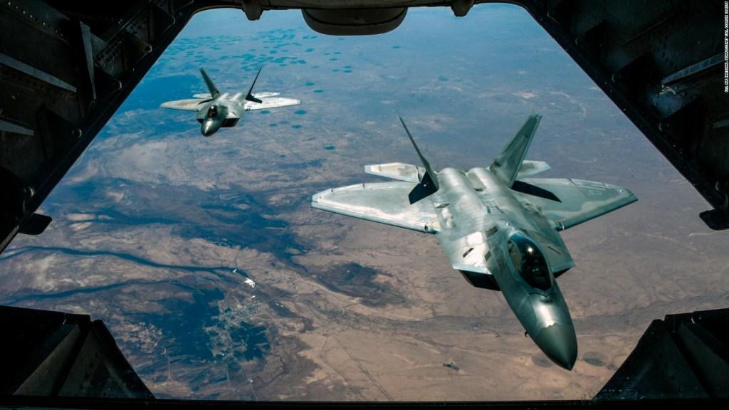 El F-22, una letal máquina de guerra