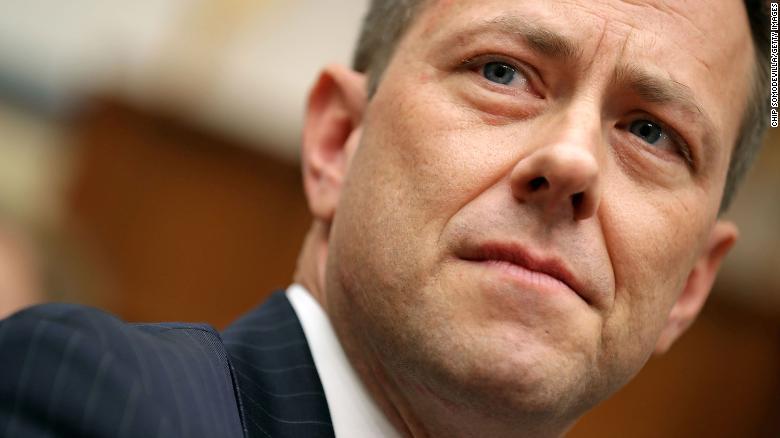 El Subdirector adjunto del FBI, Peter Strzok, testifica ante una audiencia conjunta de los comités de la Cámara Judicial y de Supervisión y Reforma Gubernamental.