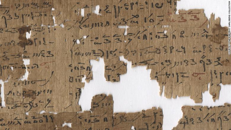 Escrito en escritura demótica, la que se utilizaba desde el siglo 7 a. C., este papiro del siglo II d. C. da varios tratamientos para los problemas anales